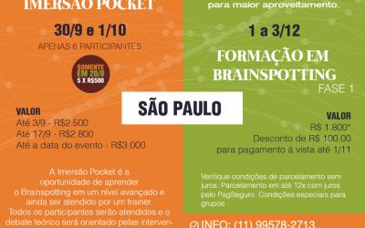 Agenda de Cursos em São Paulo