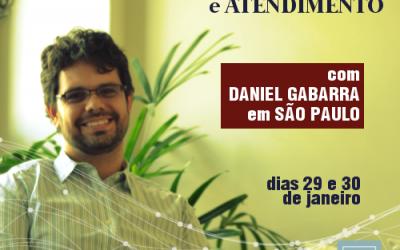 Atendimento e Supervisão de RolePlay com Daniel Gabarra em São Paulo | Janeiro de 2018