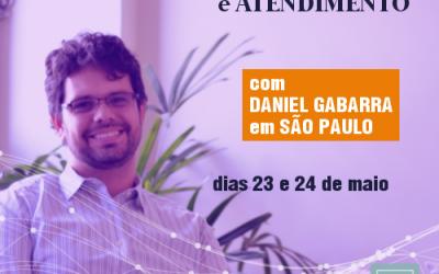Atendimento e Supervisão de RolePlay com Daniel Gabarra em São Paulo | Maio de 2018
