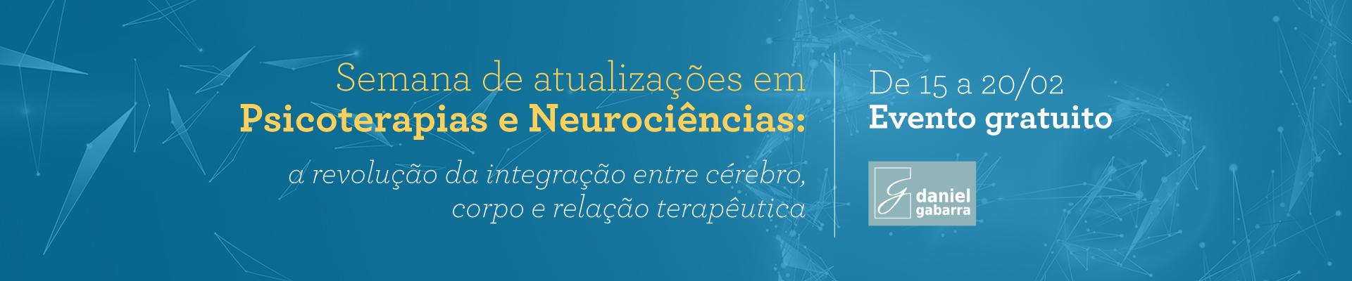 Semana de Atualizações em: Psicoterapias e Neurociências